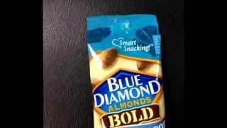 Tasty Test on VINE. Salt 'n Vinegar Blue Diamond Almonds.