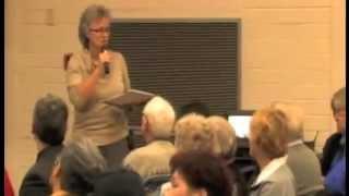 Diane Murphy @KerrisdaleCC Public Meeting 29 Jan 2013