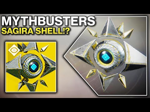 Destiny 2 MYTHBUSTERS - HOW TO GET SAGIRAS SHELL!? & MORE! (Destiny 2 Mythbusters Gameplay)
