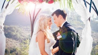 REBECCA ZAMOLO AND MATT SLAYS WEDDING VIDEO!