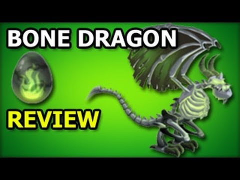 BONE DRAGON Recruitment Tavern Dragon City Egg and Level Up Fast Review