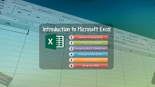 Excel Lesson 00: Introduction to Microsoft Excel