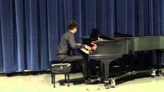 Jonathan Po Played Tarantella by Liszt