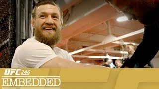 UFC 246 Embedded: Vlog Series - Episode 2