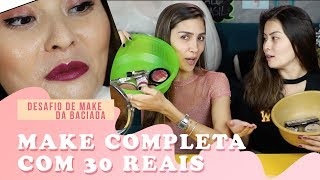 DESAFIO DE MAKE DA BACIADA | feat. COOL MARINA
