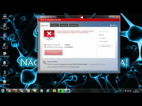 como desativar o antivirus da Microsoft Security Essentials correto.