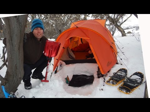 Snow Camping Tips and Tricks