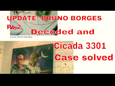 Bruno Borges mysterious disappearance cicada 3301 decoded