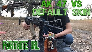 Fortnite In Real Life!: AK-47 VS Default Skin Action Figure!