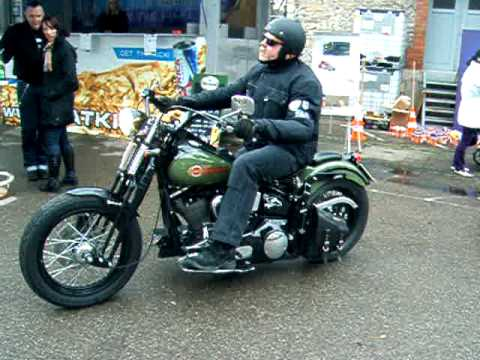 Modified Harley Davidson With Lovely Sound Youtube