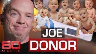 Sperm donor plans to father 2500 children | 60 Minutes Australia