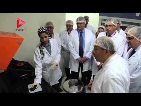 وزير البحث العلمي يفتتح مركز النانو تكنولوجي في جامعة المنصورة