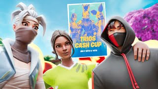 WINNING THOUSANDS IN THE FIRST TRIOS TOURNAMENT