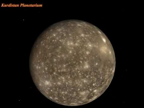 Callisto Moon Surface Jupiter 39 s Moon Callisto