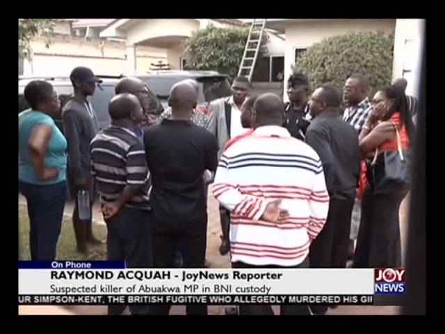 MP's Suspected Killer Confesses - Today's Big Story on Joy News (11-2-16)