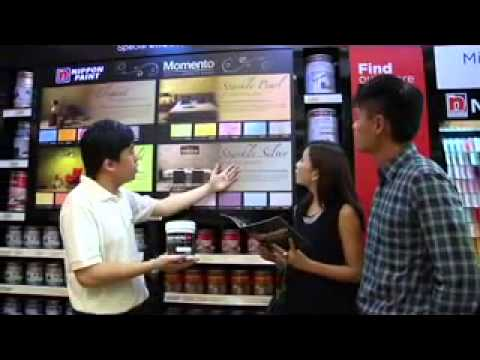 Nippon Momento Paint Singapore - Get the Momento Special Effects Paint TODAY!