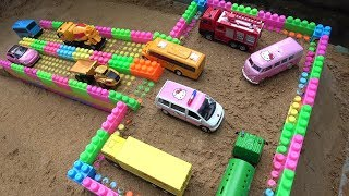 Garage Construction Cars Toys for Children | Dump Truck, Bulldozer, Sand Trucks for Kids & Toddlers