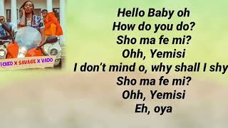 Tiwa Savage, Kizz Daniel, Young John - Ello Baby (lyrics)
