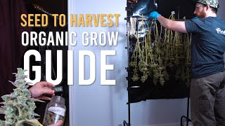 SEED TO CURE: 1 POUND ORGANIC GROW GUIDE