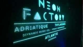NEON FACTORY w/ Adriatique + visuals Tabaramounien — I.boat