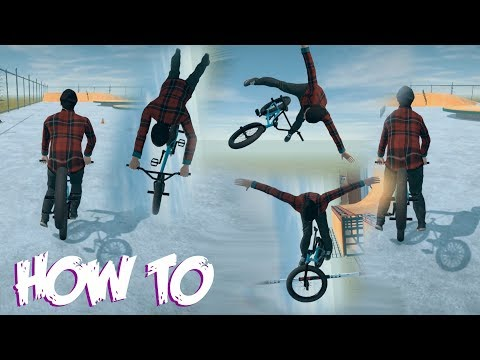 How To Do The New Tricks | BMX Streets Pipe Gameplay