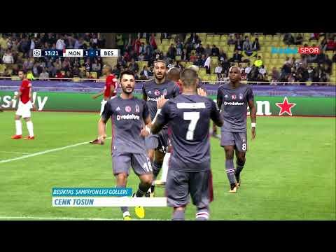 Beşiktaş'ın Şampiyonlar Ligi grup aşamasında attığı tüm goller (2017-18 sezonu)