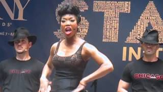 Brandy Norwood sings Roxy in Chicago the musical