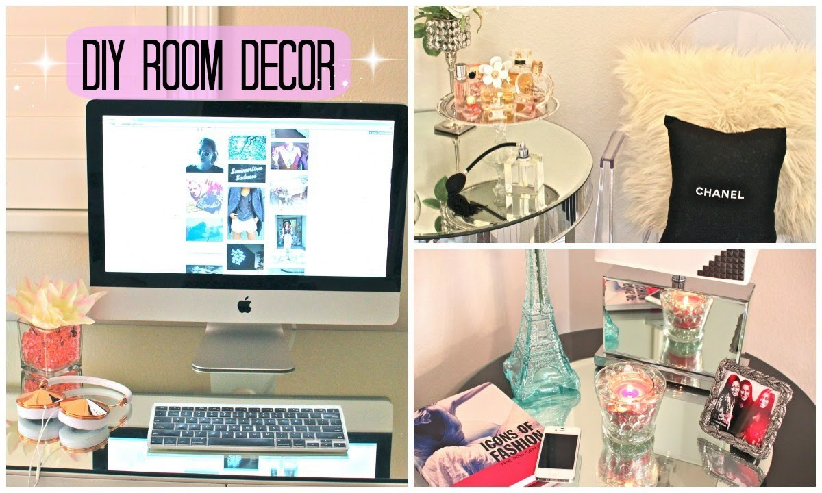 Diy room decor cute affordable youtube for Affordable bedroom accessories