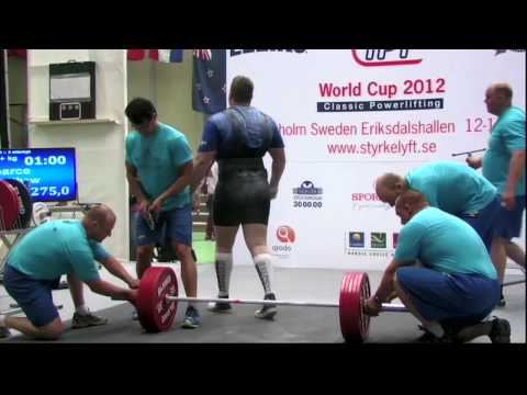 World Cup 2012 Classic Powerlifting Men +120 Deadlift Image 1