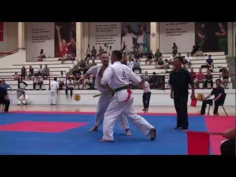 Kyokushin Karate Tournament 2012_ Dmitry Maevsky vs Krishna Bahadur Rana Image 1