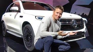 Mercedes EQC vs Tesla Model X? Launch day Comparison