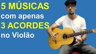 download musica 5 Músicas no Violão com 3 Acordes Fáceis Aula Top para Iniciantes