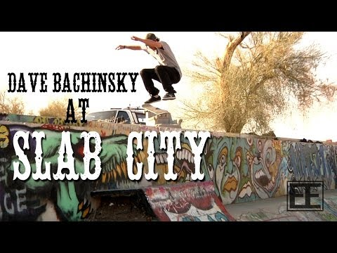Dave Bachinsky Skates SLAB CITY