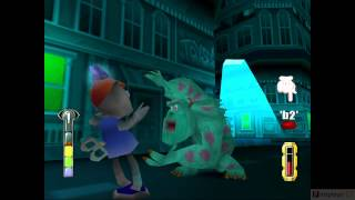 Monsters inc Scare island PC Gameplay part 3