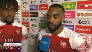 """""""We showed we have quality to challenge top of the league"""" Alexandre Lacazette 