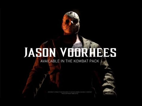 Jason Voorhees Gameplay MKX
