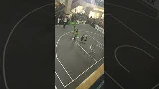 3X3 Basket Maria selena ,rico ceper dan kemal vs penonton