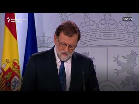 Spain To Suspend Catalonia's Government, Calls For Elections