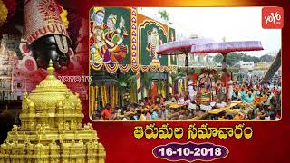 తిరుమల సమాచారం | Tirumala Samacharam Today | Tirumala Tirupati Samacharam Today | TTD News