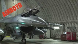 F-16 Preflight And Takeoff Spangdahlem