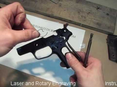 Todd McKechnie Customized Creationz P228 Disassembly 3 09