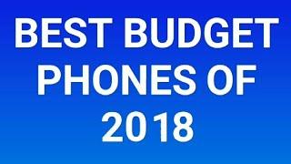 My top budget phones of 2018