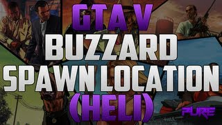"""Grand Theft Auto 5: """"GTA V Tips & Tricks"""" How To Get The Buzzard Attack Helicopter"""