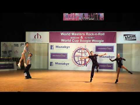 Simic - Pezer (CRO) & Batyrshin - Mukhina (RUS) - World Masters Moskau 2011