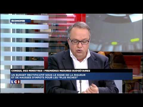 Vincent Perrault la chronique de l'économie LCI