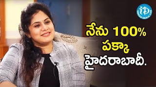 I'm a 100% Hyderabadi - Actress Sunaina | Dil Se With Anjali | iDream Telugu Movies