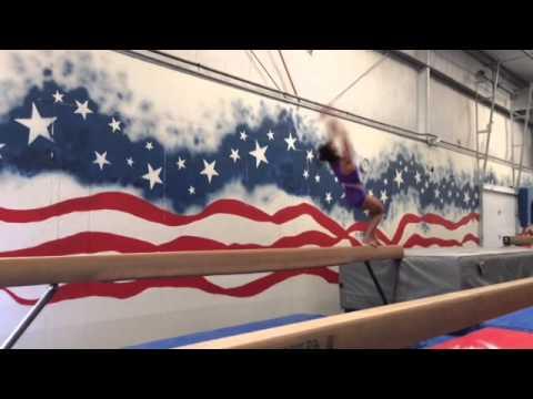 Sydney Kraez beam training August 2015