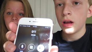 I pranked called 911 with my friend!!*The cops Came to my house*