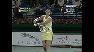 Final Dubai 2005 Lindsay Davenport vs Jelena Jankovic