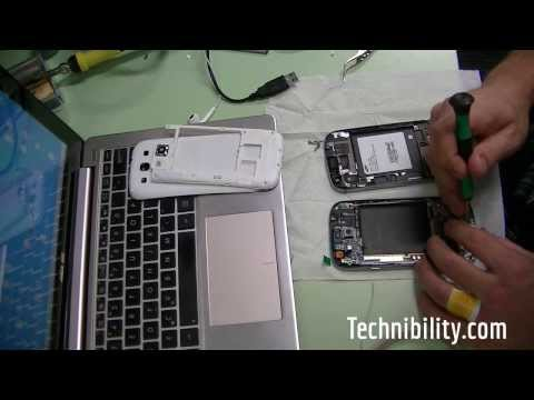 How to replace a T-Mobile Samsung Galaxy S3 Screen LCD and Frame